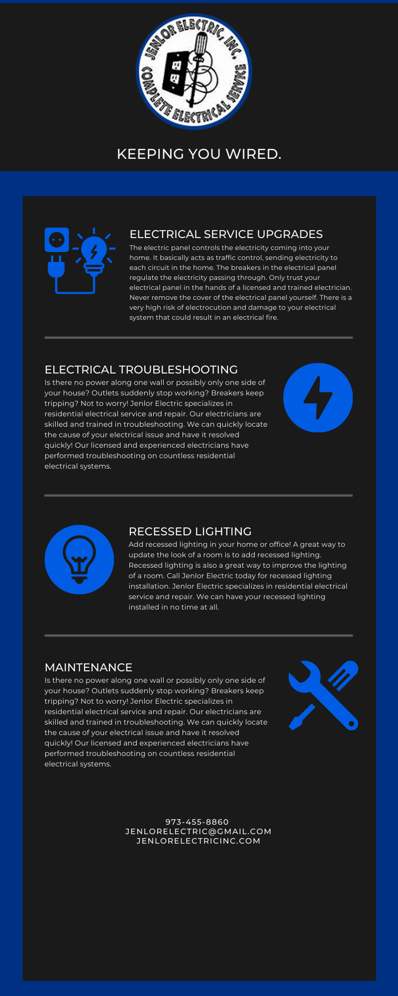 Electrical Services to Keep Your Future Bright! 3